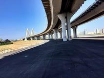 Ponte di millennio Fotografie Stock