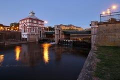 Ponte di Moravian Fotografia Stock Libera da Diritti