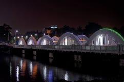 Ponte di Napier, Chennai, Tamil Nadu, India, Asia Fotografia Stock