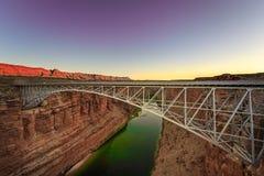 Ponte di Navajop, Arizona Fotografia Stock Libera da Diritti