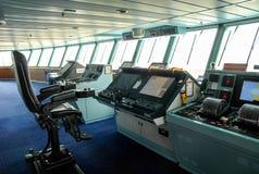 Ponte di nave fotografia stock