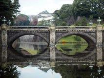 Ponte di Nijubashi Fotografia Stock Libera da Diritti