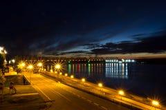 Ponte di notte Fotografie Stock Libere da Diritti