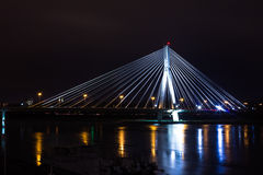 Ponte di notte Fotografia Stock Libera da Diritti
