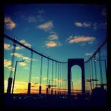 Ponte di NYC Fotografie Stock Libere da Diritti