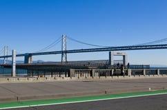 Ponte di Oakland, San Francisco, California, Stati Uniti immagini stock libere da diritti