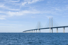 Ponte di Oresund Fotografie Stock