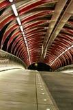 Ponte di pace di notte fotografie stock libere da diritti