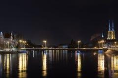 Ponte di pace - Wroclaw Fotografia Stock Libera da Diritti