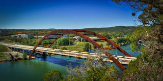 Ponte di Pennypecker, Austin, il Texas Immagini Stock Libere da Diritti