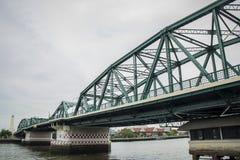 Ponte di Phra Phuttha Yodfa Immagine Stock Libera da Diritti