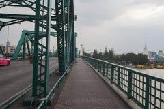 Ponte di Phra Phuttha Yodfa Fotografia Stock