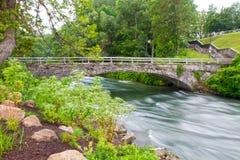 Ponte di pietra Fotografie Stock Libere da Diritti