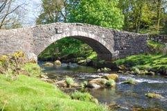 Ponte di pietra grazioso Fotografia Stock