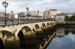 Ponte di Ponte de Burgo Fotografia Stock Libera da Diritti