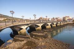 Ponte di Ponte de Burgo, Pontevedra Immagini Stock Libere da Diritti