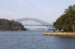 Sydney Harbour Bridge Fotografia Stock