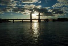 Ponte di Presidente Dutra immagini stock