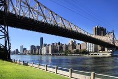 Ponte di Queensboro Fotografie Stock