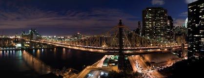 Ponte di Queensboro a New York Fotografia Stock Libera da Diritti