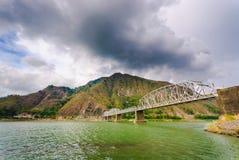 Ponte di Quirino, Santa, Ilocos Sur, Filippine Fotografie Stock Libere da Diritti
