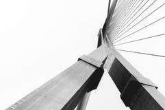 Ponte di Rama 8, Bangkok Fotografia Stock Libera da Diritti