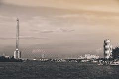 Ponte di Rama VIII Immagine Stock Libera da Diritti