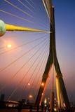 Ponte di Rama VIII Fotografia Stock