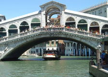 Ponte di Rialto Stock Photo