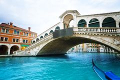 Ponte Di Rialto royalty-vrije stock foto