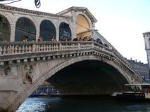 Ponte di Rialto - puente de Rialto Imagen de archivo