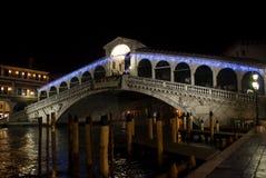 Ponte di Rialto, Venedig Royaltyfria Bilder