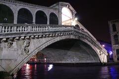 Ponte Di rialto, Venetië Royalty-vrije Stock Foto