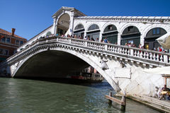 Ponte di Rialto Immagini Stock Libere da Diritti