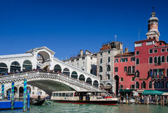 Ponte di Rialto, Venice royalty free stock photography