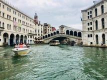Ponte di Rialto, Venise, Italie Photo stock