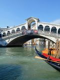 Ponte di Rialto Royalty Free Stock Photography