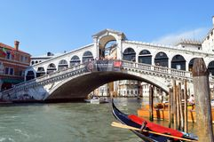 Ponte di Rialto Stock Images