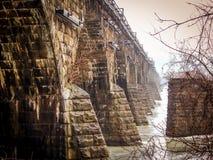 Ponte di Rockville a Harrisburg Pensilvania Fotografie Stock