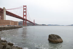 Ponte di San Francisco Bay Area Golden Gate Fotografie Stock