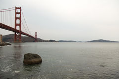 Ponte di San Francisco Bay Area Golden Gate Fotografia Stock
