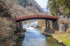 Ponte di Shinkyo Immagine Stock