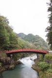 Ponte di Shinkyo, Nikko Fotografia Stock Libera da Diritti