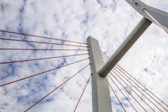 Ponte di Siekierkowski Fotografie Stock