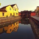 Ponte di stile giapponese a Hoi An, Vietnam immagine stock libera da diritti
