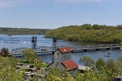 Ponte di Stillwater Fotografia Stock
