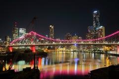 Ponte di storia a Brisbane Fotografie Stock Libere da Diritti