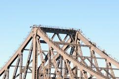 Ponte di storia - Brisbane Queensland Australia Immagini Stock Libere da Diritti