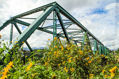 Ponte di storia di Pai Fotografia Stock Libera da Diritti