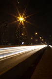 Ponte di Taksin a Bangkok Immagine Stock